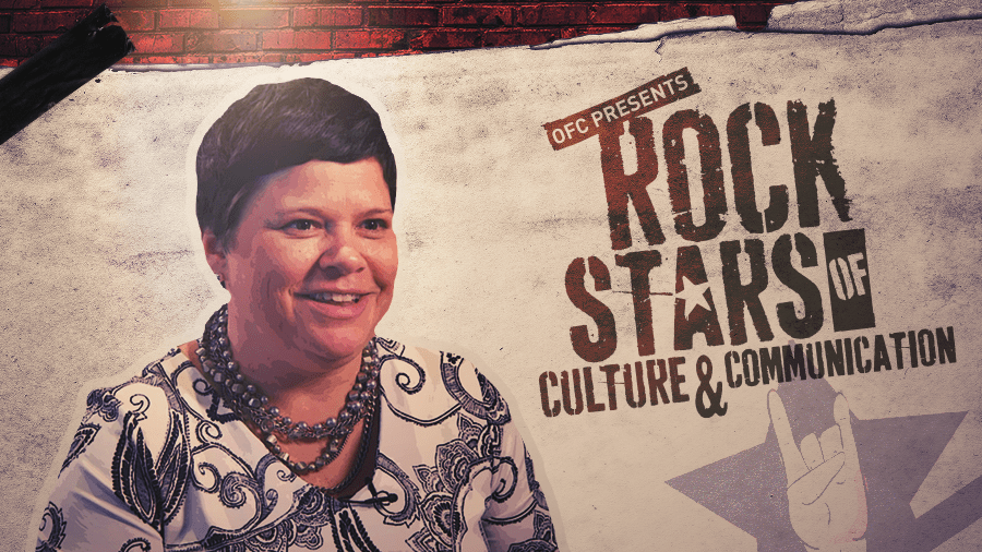 Joan Cronin OFC's Rockstar of Culture and Communication