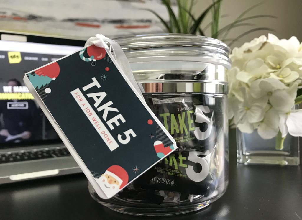 Employee Appreciation Gift Ideas - Take 5 For a Job Well Done