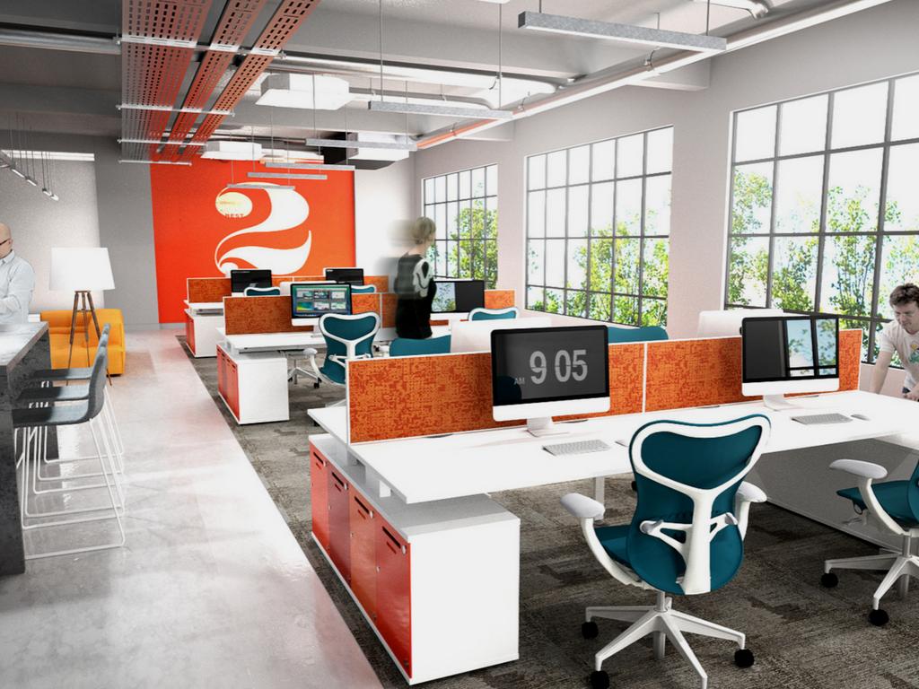 modern startup office design