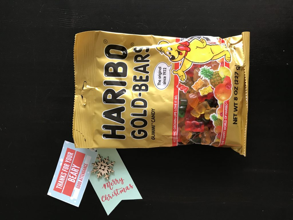 Employee Appreciation Gift Ideas - Haribo Gummy Bears