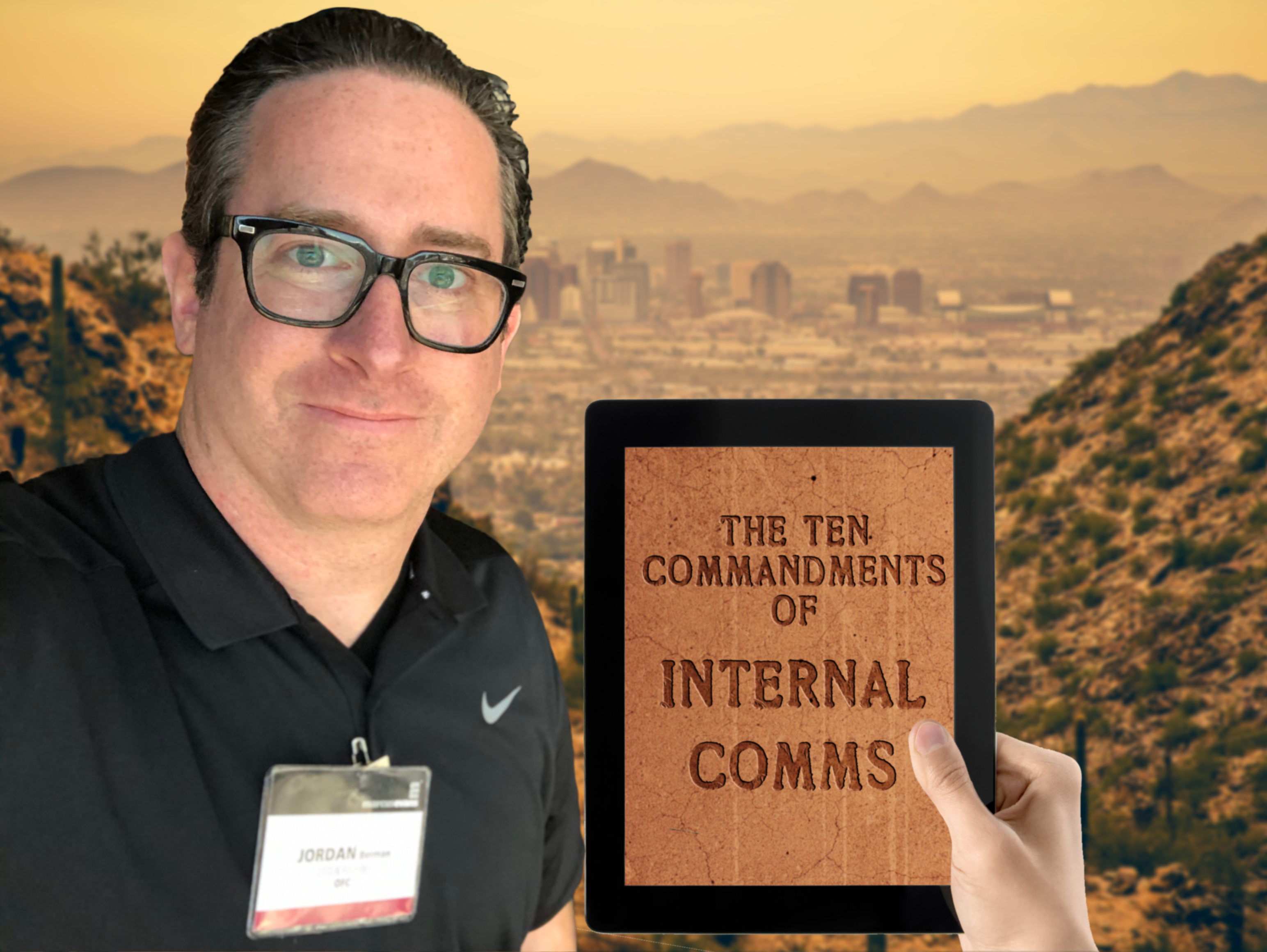 Jordan Berman 10 Commandments of Internal Communications